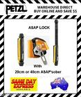 Petzl ASAP LOCK with 20cm or 40cm ASAP'sorber Mobile Fall Arrest Device Climbing