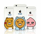 Kakao Friends Cell Phone Cutie Jelly Case Cover iPhone & SAMSUNG Cell Phone