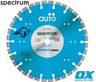 Spectrum Ultimate ZX10 Auto Universal Hard Material Diamond Blade 115mm to 450mm