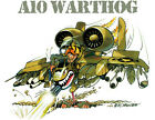 A10 WARTHOG THUNDERBOLT Fighter T-Shirt military P-47