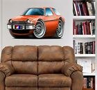1975 - 1977 AMC Pacer & Pacer X WALL GRAPHIC DECAL #9385 MAN CAVE GARAGE EM