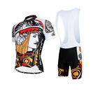 Men's Sporting Suit SportWear Cycling Jerseys Clothes Suits Set Short-Sleeved