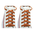 2 Pairs Flat 27,36,45,54,63* Athletic Sports Sneaker Coffee Shoelace Strings