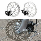 Mechanical Disc Brake MTB Road Bike Cycling Bicycle Front/Rear Caliper Rotors