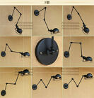 Multitudinous Industrial Three section Swing arm Metal Ceiling Wall lamp Fixture