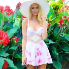 sale forever hot BOHO LACE MURA TIE DYE BOUTIQUE ROMPER PLAYSUIT 6 8 10 12 new