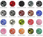 MG TF 2002-2006 Yr Front Rear Insert Badges To Fit 70mm Emblems 19 Colours