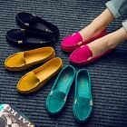 Womens Loafers Moccasin Casual Flat Pumps Shoes Platform Boat Slip Shoes 1Pair