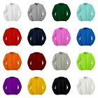 Cute Cotton Crewneck Sweatshirt Jumper Tee Tops All Colours.XS / S / M / L / XL