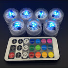Changeable Candle Light Remote Discus LED Light Colorful Romantic Decoration