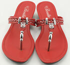 New 2016 Womens Shoes Red Sandals Wedge Shoes Low Heels Sandals and Flip Flops 3