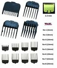 ATTACHMENT COMBS for WAHL Hair Clippers - Number 1 2 3 4 5 6 7 8