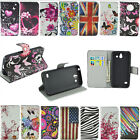 Luxury Magnetic Flip Stand PU Leather Wallet Phone Case Cover Patterned For