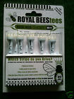Royal Bees Tees: Stepped 60mm: Straight 49mm: Various Qty's  ***Free UK P&P***