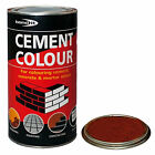 POWDERED CEMENT DYE RED MORTAR BRICK POINTING RENDER CONCRETE BONDING