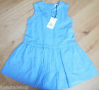 No added sugar girl summer blue dress 7-8 y BNWT  designer