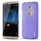 J&D ZTE Axon 7 [Slim Cushion] Jelly Protective Cover Case
