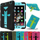 Hybrid Full Body Protection Shockproof Rubber Stand Case Cover For iPad 2 3 4