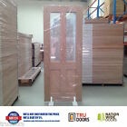 Traditional Glass French Solid Timber Doors Hardwood Laundry Front Back sliding