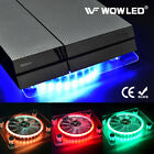 WOW - USB RGB LED Cooler Cooling Fan Pad Stand for PS4 Playstation 4 Laptop Pad