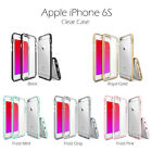 iPhone 6S Case - [FRAME] Drop Protection Clear Soft Shock Absorption Bumper