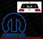 MOPAR LOGO Vinyl Decal Car Window/Bumper Sticker Jeep Ram Dodge Chrysler RC006 $3.99 USD on eBay