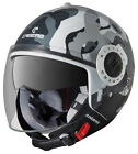 Caberg Riviera V2+ Commander Open Face Helmet White/Grey