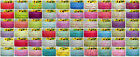 """5 YARDS ENGLISH NAMES PART 2 GROSGRAIN RIBBON 4 CRAFTS & HAIRBOW 7/8"""" INCH 22MM"""