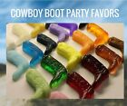 Cowboy Boot Soap Party Favor Rustic Western Wedding Bridal Shower Baby Pack 25