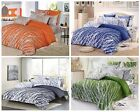 trees 100% cotton bedding set: duvet cover & pillow shams, twin/full/queen/king