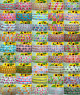 "5 YARDS CUTE ANIMALS PART 2 PRINTED GROSGRAIN RIBBON 4 CRAFTS & BOW 7/8"" INCH"