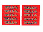 RIZLA RED KING SIZE Cigarette Rolling Papers Original Tobacco Paper FULL BOX