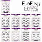 EyeEnvy False Eyelashes with Free Glue Fake Eye Lashes Thick Long Black 301-309
