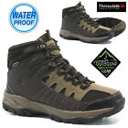 MENS OZARK TRAIL LEATHER WATERPROOF WALKING HIKING MID ANKLE BOOTS SHOES SIZE