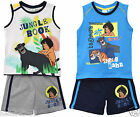 OFFICIAL JUNGLE BOOK T SHIRT & BERMUDA SHORT SET/OUTFIT 3 5 6 8 10 YEARS