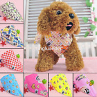 SJJ Wholesale Lot Dog Hand tied Bandanas Cotton Puppy Pet Neck Ties BowsTriangle