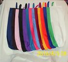 Homemade Fabric Plastic Grocery Bag Holder Solid Color Design