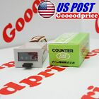 Line Seiki Electromagnetic Counters MCF-4X 4Dig. Push Button NIB #FAST SHIPPING#