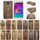 New Genuine Real Wood Bamboo Case Cover+Film for Samsung Galaxy Note 5/4/3 S7 S5