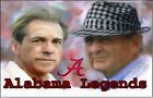 Alabama Legends Coach Saban Coach Bryant Roll Tide Edible Cake Topper Football