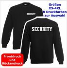SECURITY  Sweatshirt Pullover schwarz S-3XL SE2