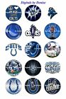 "INDIANAPOLIS COLTS 1"" CIRCLES  BOTTLE CAP IMAGES. $2.45-$5.50 **FREE SHIPPING** $5.5 USD on eBay"