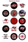 "TAMPA BAY BUCCANEERS 1"" CIRCLES  BOTTLE CAP IMAGES. $2.45-$5.50 *FREE SHIPPING* $5.5 USD on eBay"