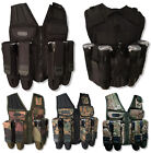 Paintball Vest Den-Ops Tactical Assault Harness 5 Colours FREE Remote Line Cover