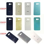 Original Panel Glass Back Battery  Cover For Samsung Galaxy S6 G920P G920A G920F
