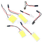 18/24/36/48 12V COB Chip LED Car White Interior Dome Panel Light Bulb Lamp EW