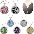 316L Stainless Steel DIY Aromatherapy Necklace Perfume Essential Oil Pendant Pad