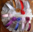 Sheer Organza Pull-Bow Ribbon 22mm 9 Colours 3, 5 & 10 Mtrs Long MultiList CL