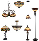 Tiffany Style Stained Glass Billiard Pendants, Ceiling Light, Chandeliers, Lamps $269.99 USD