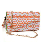 "Tribal Pattern Crossbody Wristlet Wallet for 5"" Phone Sony Samsung Xolo Verykool"